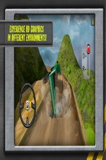 Hill Climb Transport 3D Mobile Game