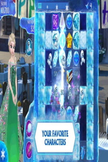 Frozen Free Fall Android Game Free Mobile Game