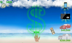 Raining Money Mobile Game