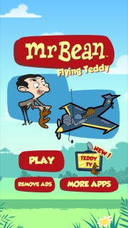 Mr Bean Flying Teddy Android Games For Smartphone Mobile Game