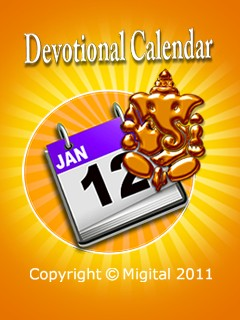 Devotional Calendar 240x320 Mobile Game