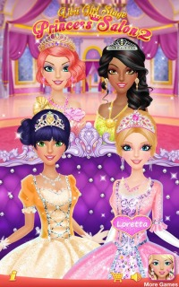 Princess Salon For Android Phones  V 2 1.0 Mobile Game