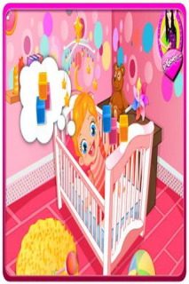 Baby Lizzie Diaper Change Mobile Game