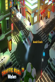 Traffic Rush Winters 3D Mobile Game