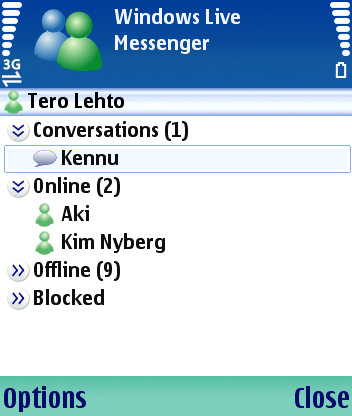 Windows Live Messenger Mobile Game