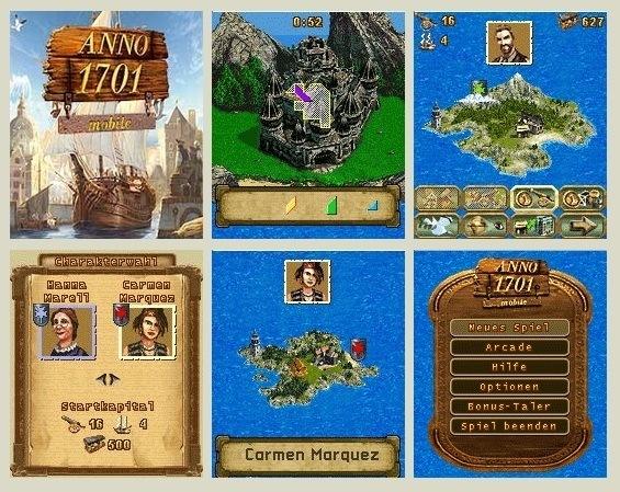 Anno 1701 240x320 Mobile Game