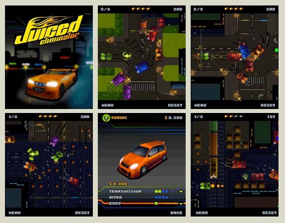Juiced Eliminator 240x320 Mobile Game