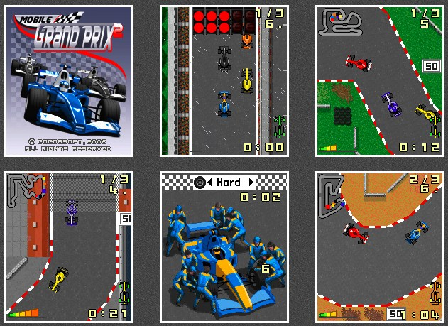 Mobile Grand Prix 2 Mobile Game