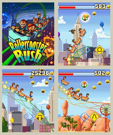 Rollercoaster Rush Mobile Game