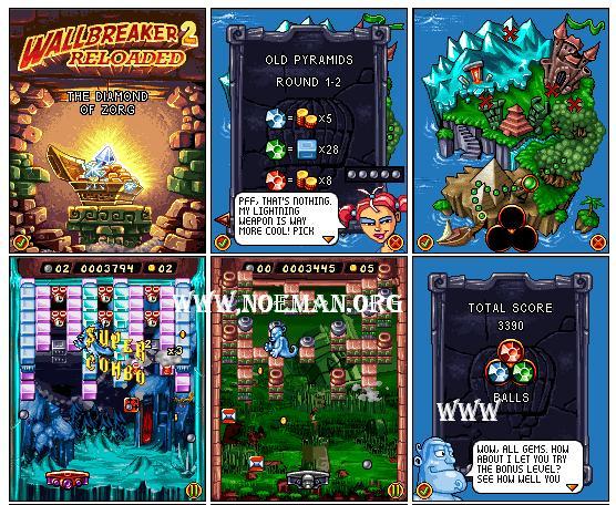 WallBreaker 2 Reloaded Mobile Game