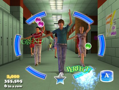 High School Musical Mobile Game