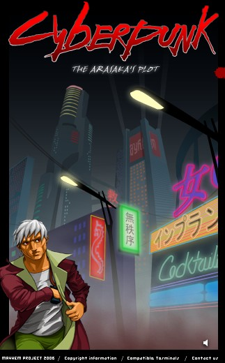CyberPunk Mobile Game