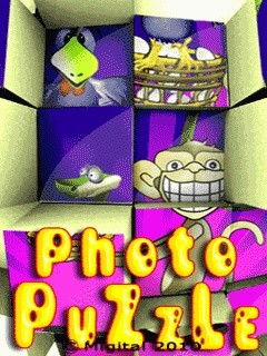 Photo Puzzle 240x320 Mobile Game