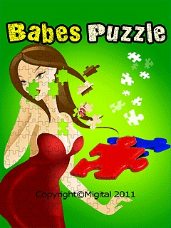 Babes Puzzle 240x320 Mobile Game