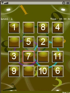 Number Puzzle_240X320_Touch Mobile Game