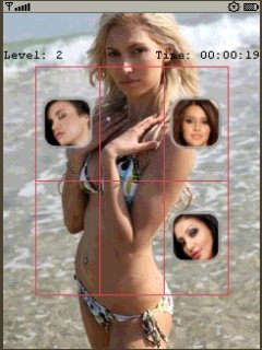 Babes Teaser Pro 240X320 Touch Mobile Game
