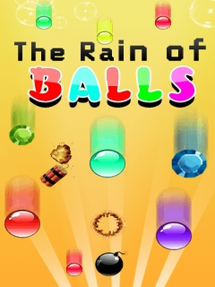 The Rain Of Balls Mobile Game