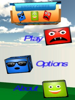 Angry Cubes Mobile Game
