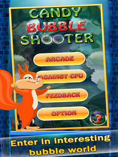 Candy Bubble Shooter Mobile Game