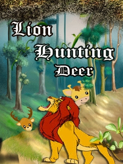 Lion Hunting Deer Mobile Game