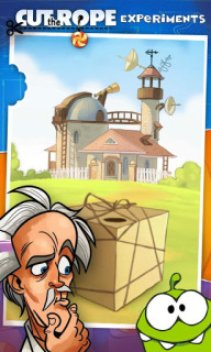 Cut The Rope Experiments FREE For Android V1.5.2 Mobile Game