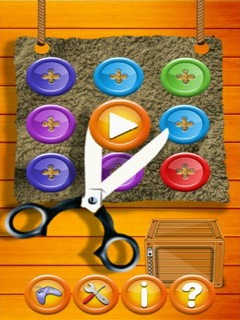 Buttons & Scissor Mobile Game