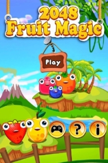2048 Fruit Magic Mobile Game