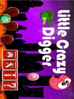 Little Crazy Digger Mobile Game