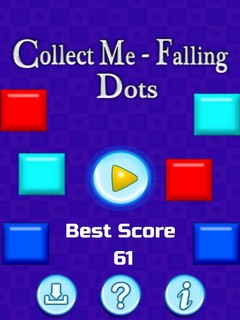 Collect Me Falling Dots Mobile Game