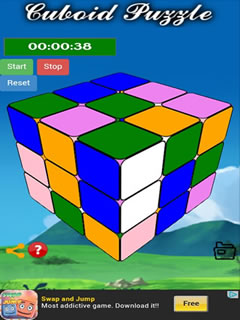Cuboid Puzzle Mobile Game