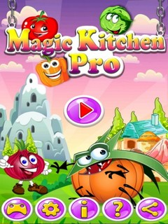 Magic Kitchen Pro Mobile Game
