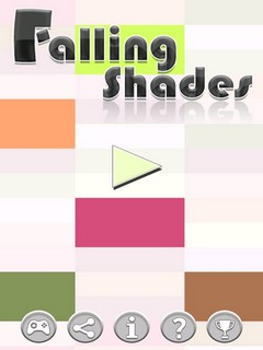 Falling Shades Amazing Puzzle Mobile Game