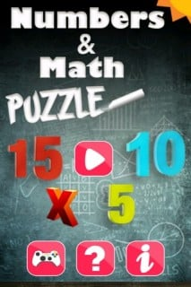 Numbers & Math Puzzle Mobile Game