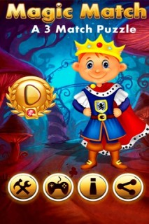 Magic Match A 3 Match Puzzle Mobile Game