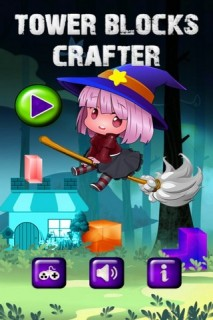 Tower Blocks Crafter Mobile Game