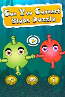 Can You Connect ? Blob Puzzle Mobile Game