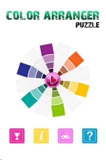 Color Arranger Puzzle Mobile Game