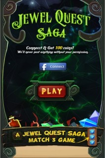 Jewel Quest Saga Mobile Game