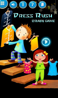 Dress Rush Brain Game Mobile Game
