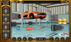 Escape Games - Car Workshop Mobile Game