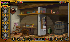 Knf Village Wooden House Escape Mobile Game