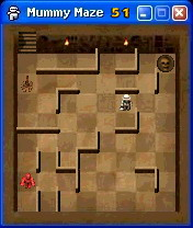 Mummy Maze Mobile Game