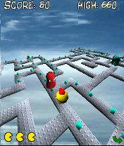 3d Zapman Mobile Game