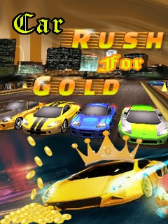 Car Rush For Gold Mobile Game