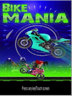 Bike Mania Mobile Game
