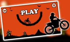 Free Moto Racer Halloween Town Mobile Game