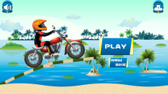 Beach Power:The Motorbike Race Mobile Game