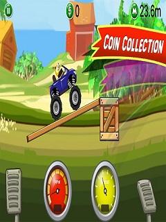 Monster Truck Hill Stunt 3D Mobile Game
