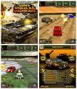 Guns Wheels And Madheads2(128x128 Mobile Game