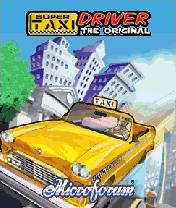 Super Taxi Driver 128x160 Mobile Game